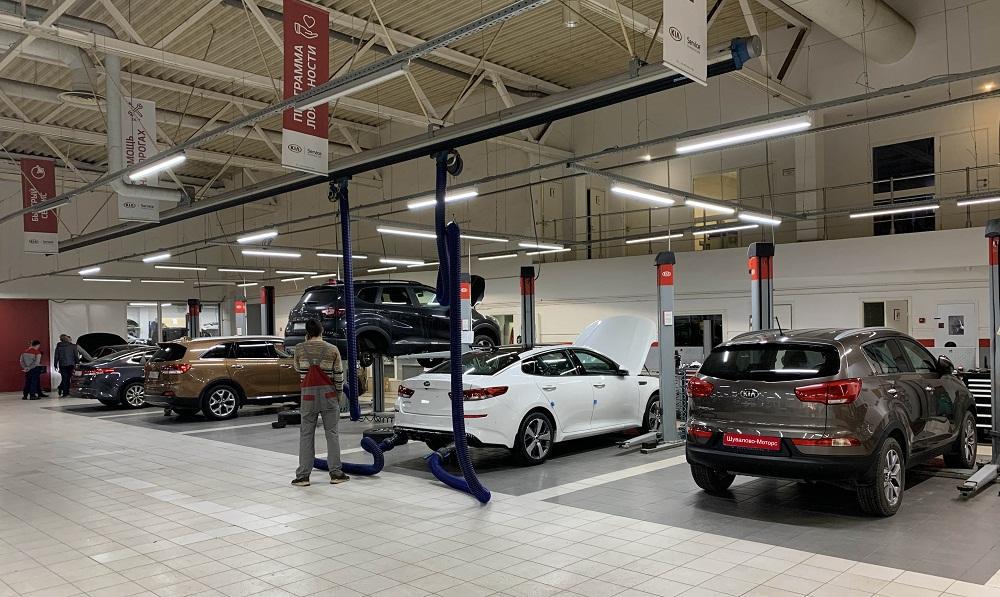 Кузовной ремонт КИА в Санкт-Петербурге в сервисном центре KIA Шувалово-Моторс на Выборгском шоссе 31а