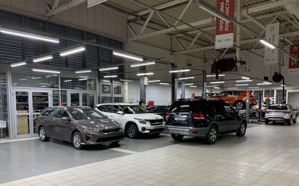 Техническое обслуживание КИА, плановое ТО для автомобилей KIA в Санкт-Петербурге в салоне официального дилера Шувалово Моторс