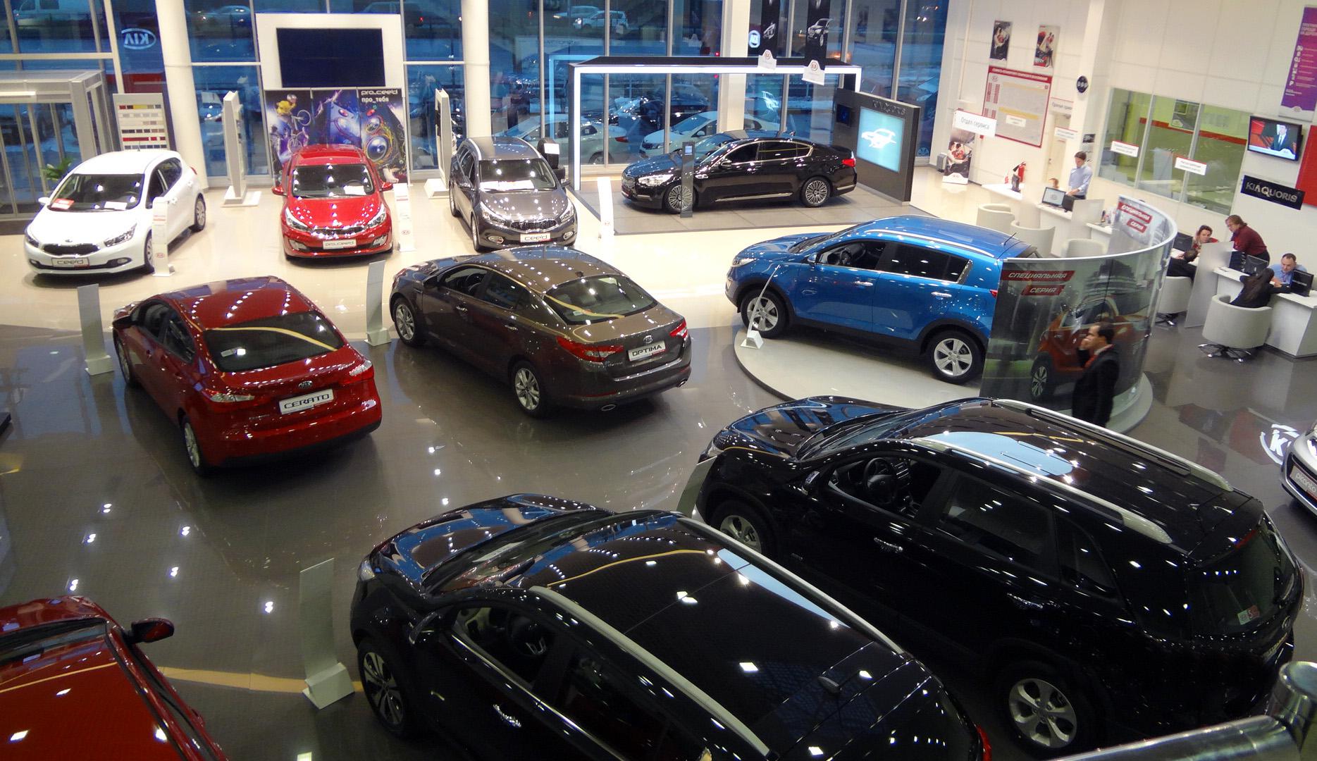 Продажа новых автомобилей КИА в дилерском центре Шувалово Моторс на Выборгском шоссе 31а в СПб